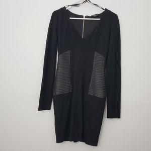 Bebe Mini Bodycon Little Black Dress
